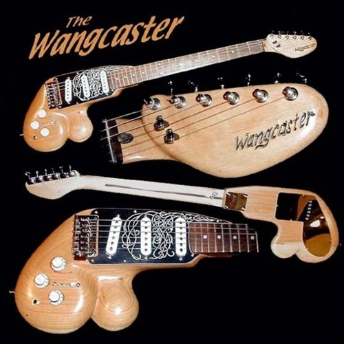 balls guitars looks like a wang