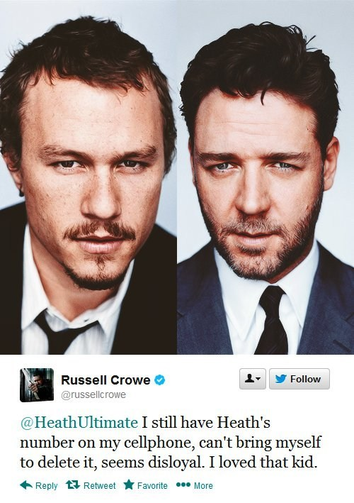 twitter Russell Crowe heath ledger - 7165516288