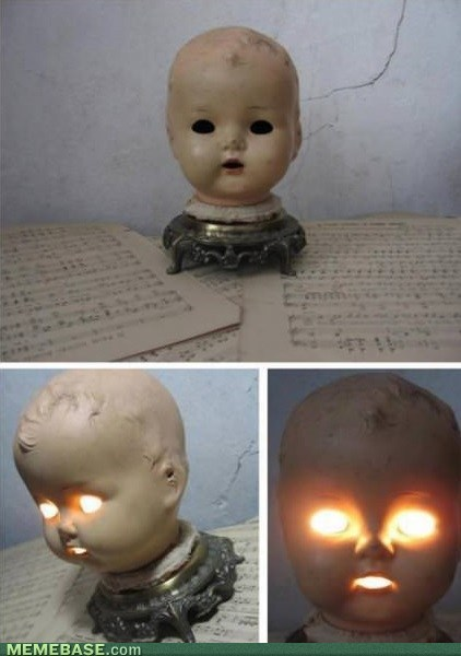 wtf,not sleeping tonight,dolls,bedside lamp