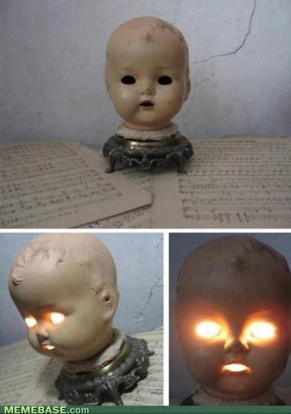 wtf not sleeping tonight dolls bedside lamp - 7165571584