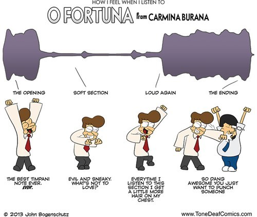 carmina burana,tone deaf comics,carl orff,Music FAILS,g rated