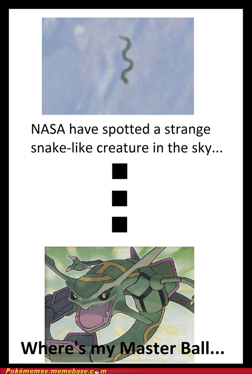 nasa IRL master ball rayquaza - 7165684992