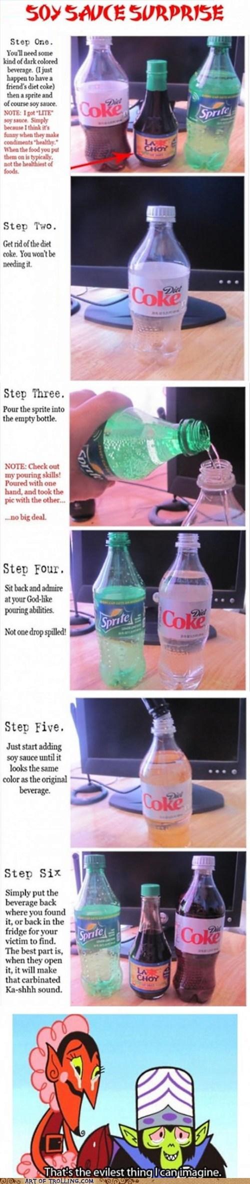 diet coke soy sauce coke - 7165689856