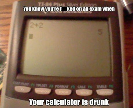 drunk calculator math - 7165808384