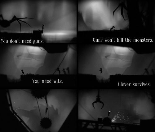 guns violence wit limbo video games - 7165888512
