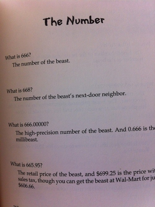 beast,number,math,g rated,School of FAIL