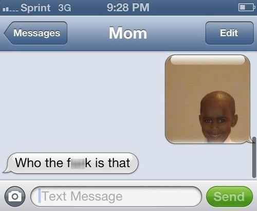 iPhones who is this mom wat - 7166062592