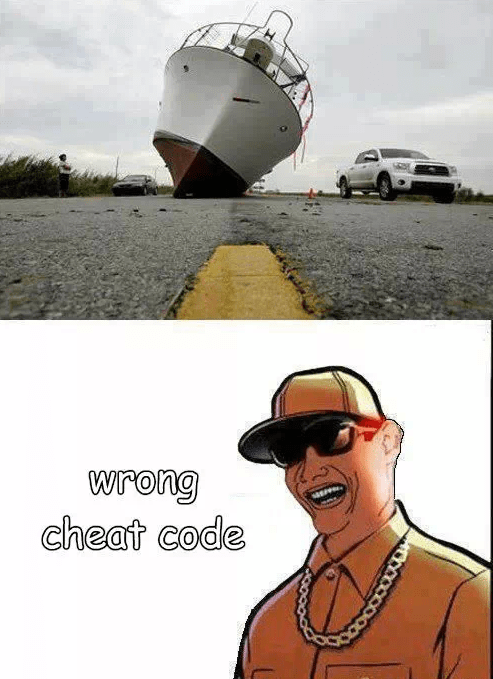 cheat codes IRL Grand Theft Auto boats