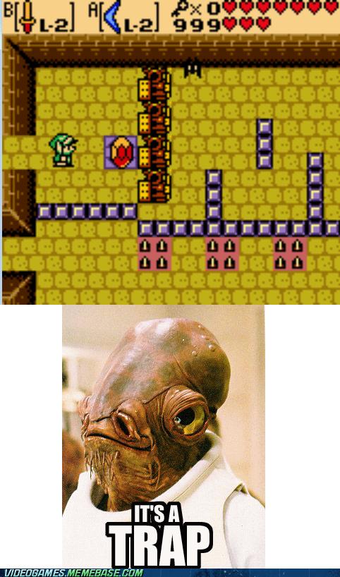 its a trap link Memes zelda