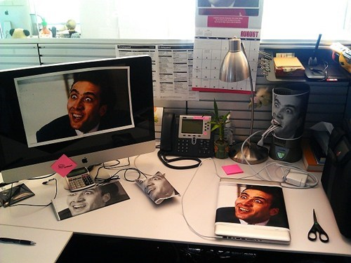 you dont say,office pranks,nicolas cage