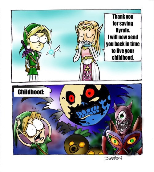 hyrule childhood comics zelda - 7166138624