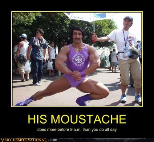 awesome moustache muscles - 7166163712