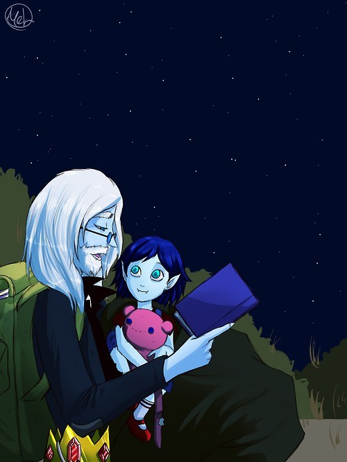 Fan Art simon and marcy cartoons adventure time - 7166225920