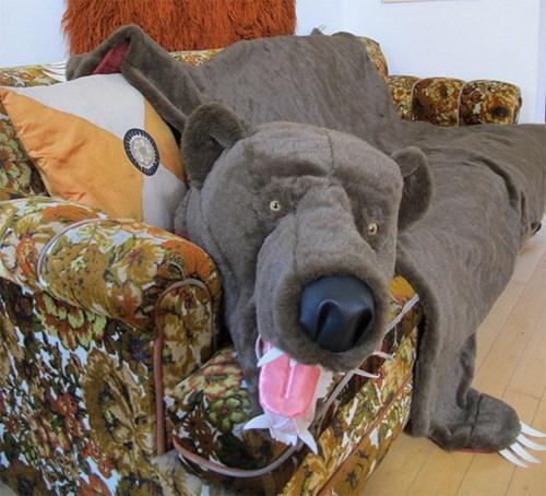 rug cute bear fuzzy - 7166245888