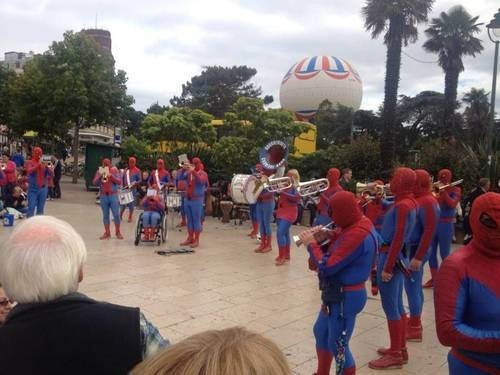 costume,Spider-Man,band