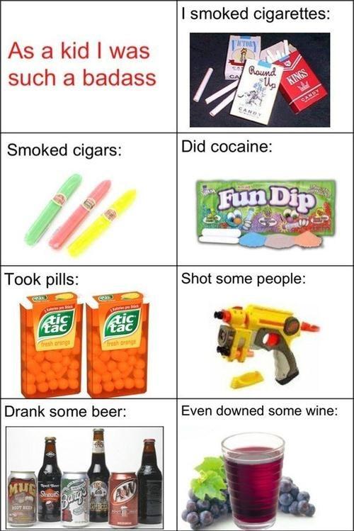 fun dip tic tac edgy nerf guns badass Parenting FAILS - 7166340096