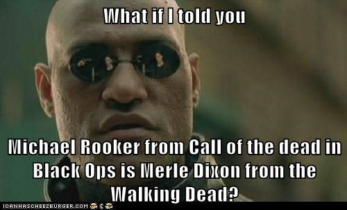 Michael Rooker video games The Walking Dead voice actors - 7166504192