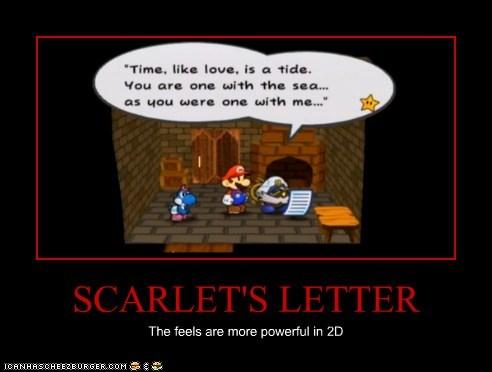 Scarlets Letter Cheezburger Funny Memes Funny Pictures