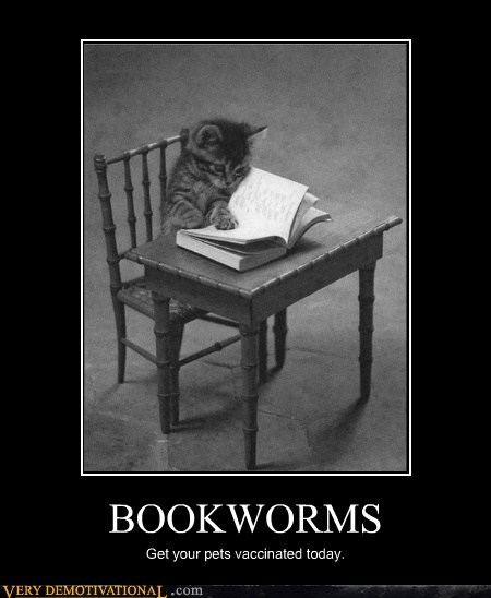 worms,cat,wtf,books