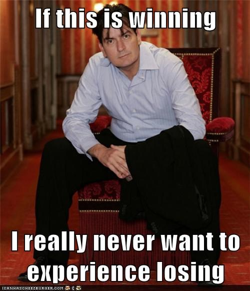 winning,Charlie Sheen