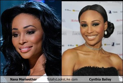 nana meriwether,totally looks like,cynthia bailey