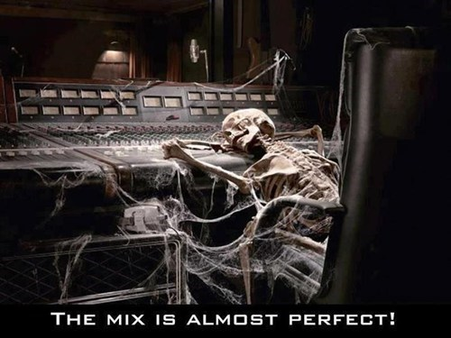 producers,sound boards,mixers,skeletons,Music FAILS,g rated