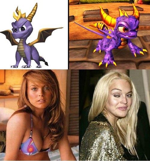 Not Even Once lindsay lohan spyro celeb - 7168071424