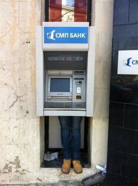 shady russia banks ATM