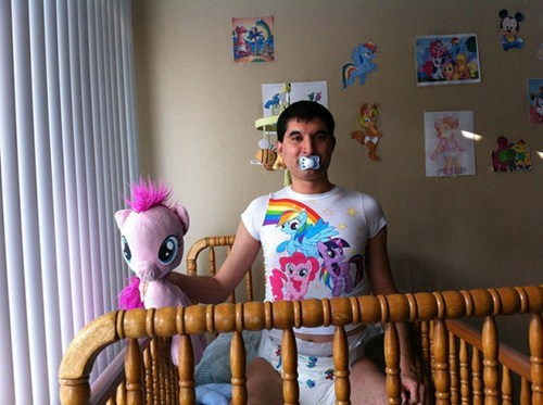 Bronies,my little pony,big babies