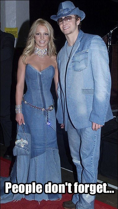 denim britney spears Justin Timberlake - 7168135680