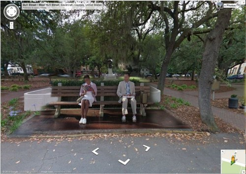Forrest Gump google maps cute - 7168227840