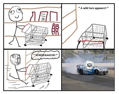 nascar race car me gusta shopping cart - 7168372736