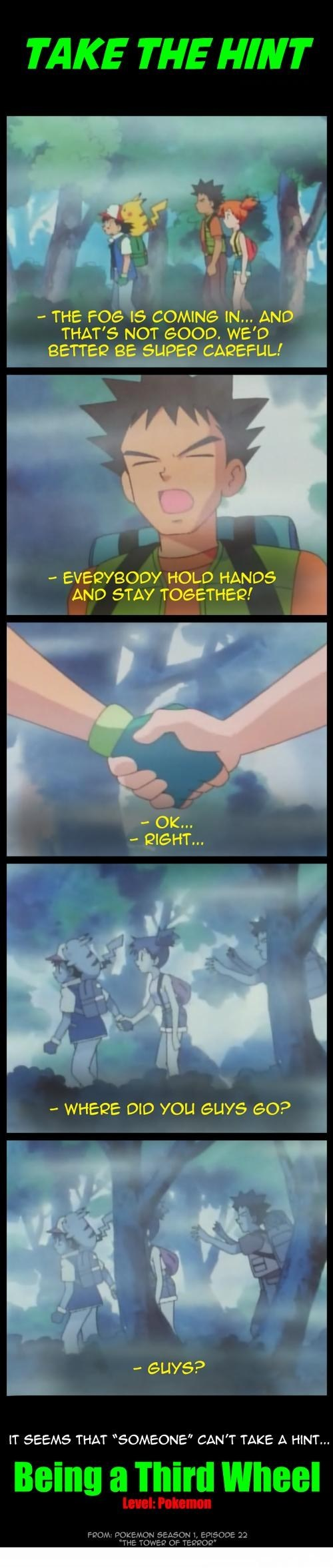 Sad brock anime third wheel - 7168425216