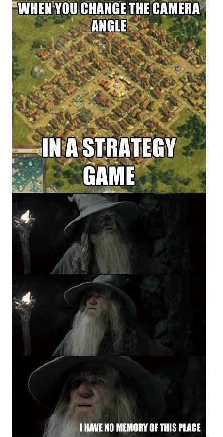 strategy games,gandalf,Memes,camera angles