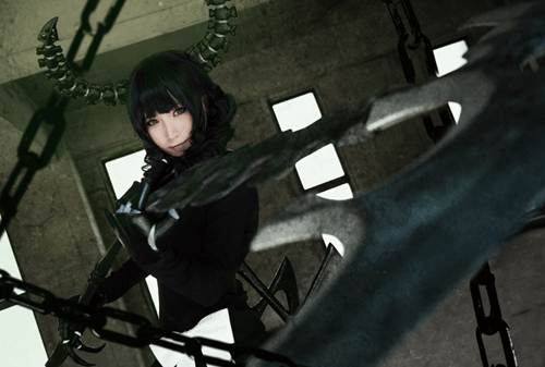 cosplay,anime,dead master,crossplay,black rock shooter,Tokyo Otaku Mode