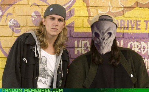 jay and silent bob crossover doctor who the silence - 7168664576