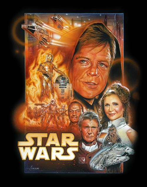 star wars Fan Art movie posters - 7168985088