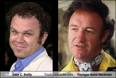 gene hackman john c reilly totally looks like
