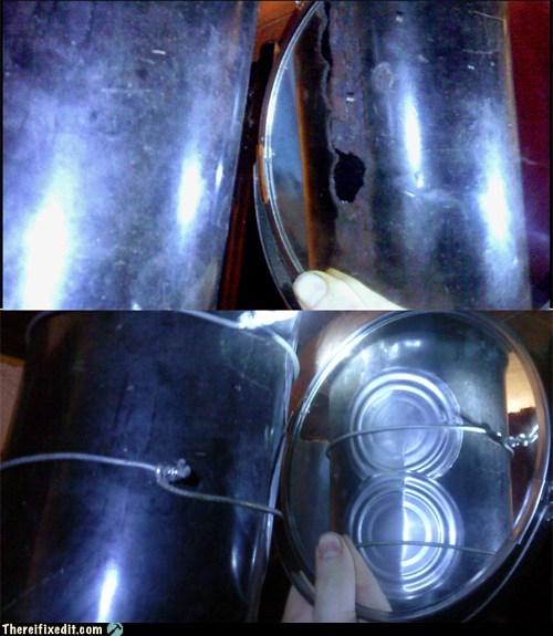 soup cans lids stove piepe - 7170098176