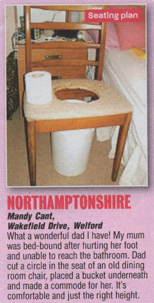chamber pots,chairs,toilets