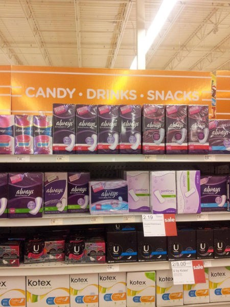 candy,tampons
