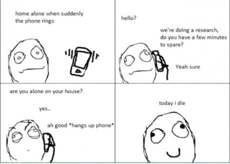 alone,Rage Comics,how i die