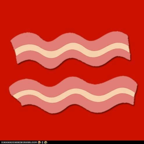 Mmm yeah, gay bacon