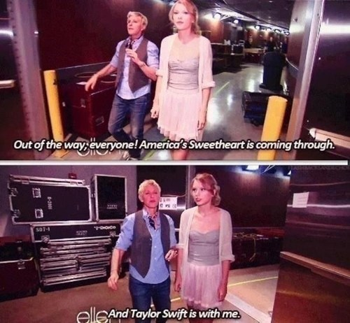 taylor swift,ellen degeneres,burn