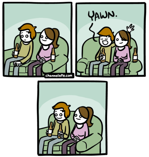 flirting channelATE comics - 7172312320