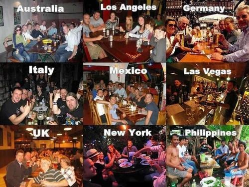 drinking,around the world