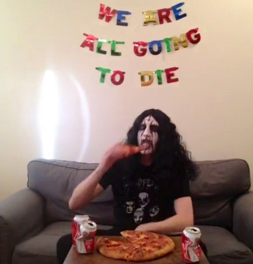 wtf pizza sad but true black metal