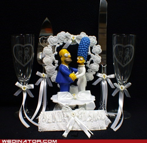 cake cake toppers the simpsons - 7172620800