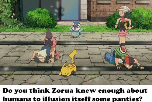 anime piplup cannot unsee zorua - 7172649728