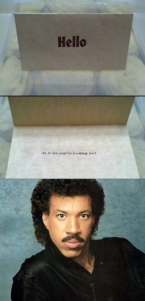 hello greeting cards lionel richie - 7173476864